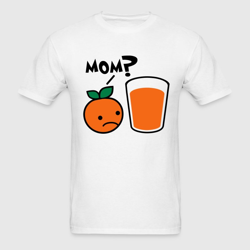 Orange Juice Mom T-Shirts - Men's T-Shirt