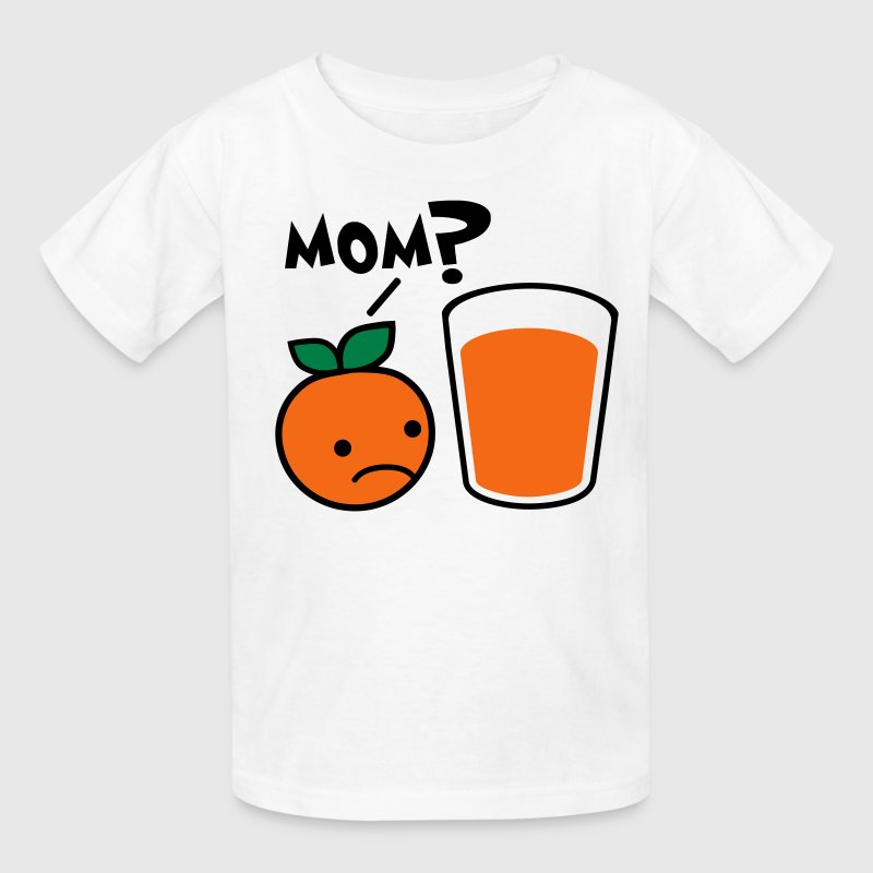Orange Juice Mom Kids' Shirts - Kids' T-Shirt