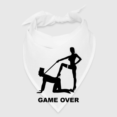 game over marriage matrimory wedlock fog haze double heiht heyday nuptials wedding zenith dominatrix lash whip slave bondman sex Bags  - Bandana