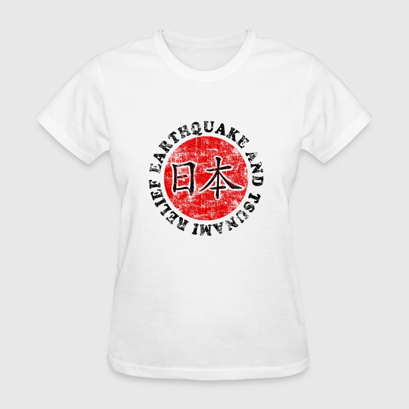 Japan Tsunami Relief Women's T-Shirts - Women's T-Shirt