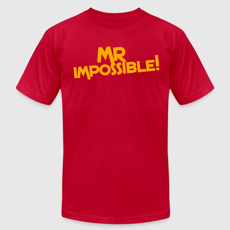 mr impossible! T-Shirts - Men's T-Shirt by American Apparel