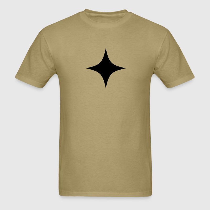 simple 4 point star T-Shirts - Men's T-Shirt