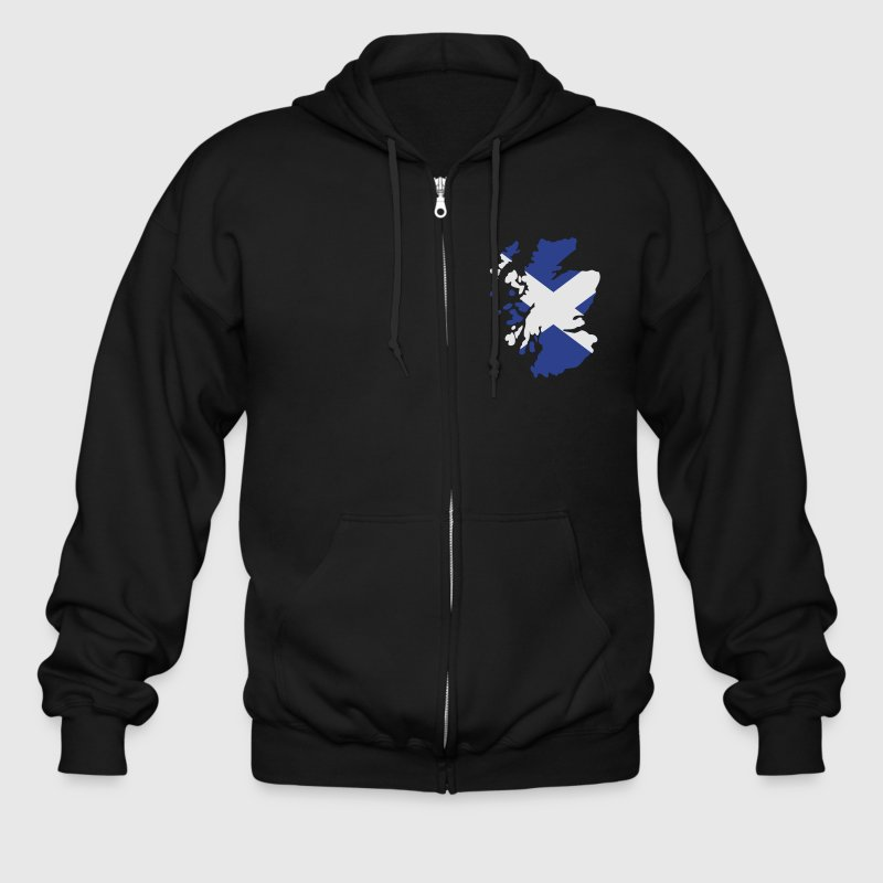 Scotland Zip Hoodies/Jackets - Men's Zip Hoodie