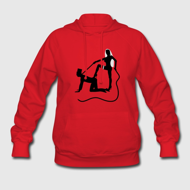 scenes from a marriage dominatrix domina whip lash high heel bachelor party bachelorette wedding leash Hoodies - Women's Hoodie