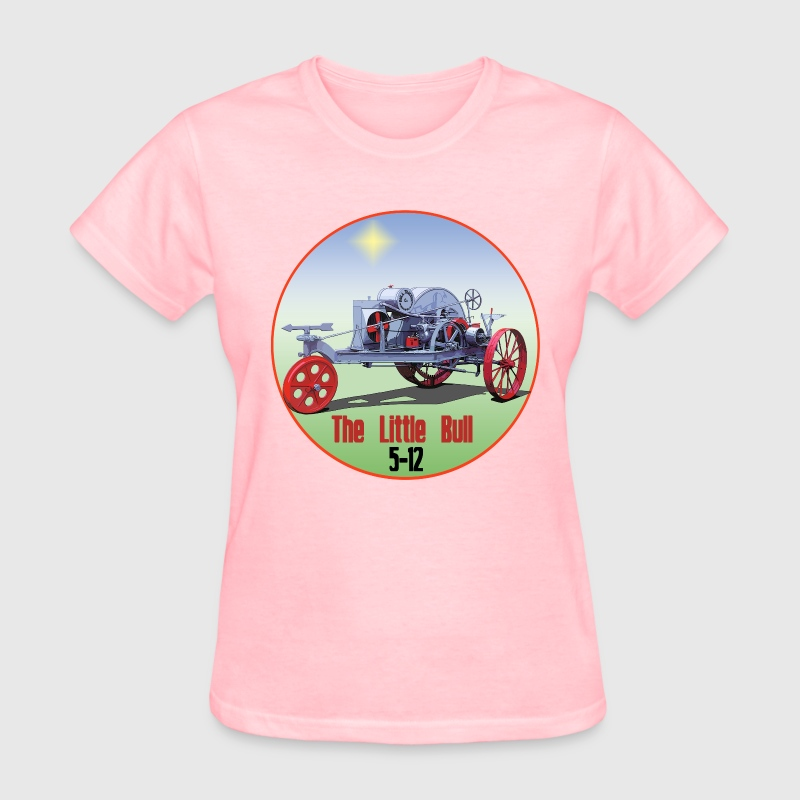 Little Bull Tractor - Women's T-Shirt
