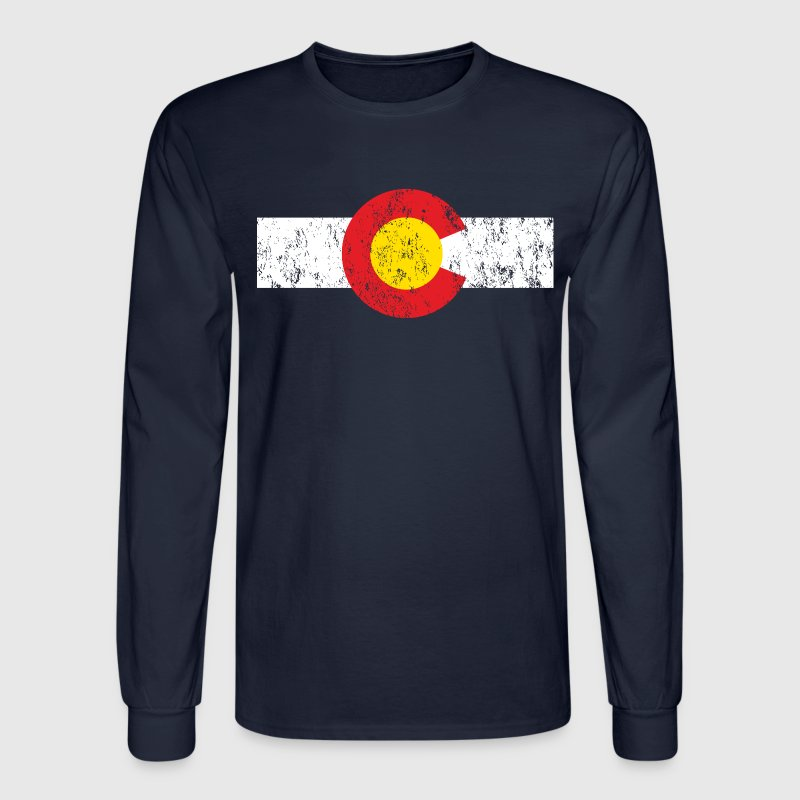 Vintage Colorado Long Sleeve Shirt - Men's Long Sleeve T-Shirt