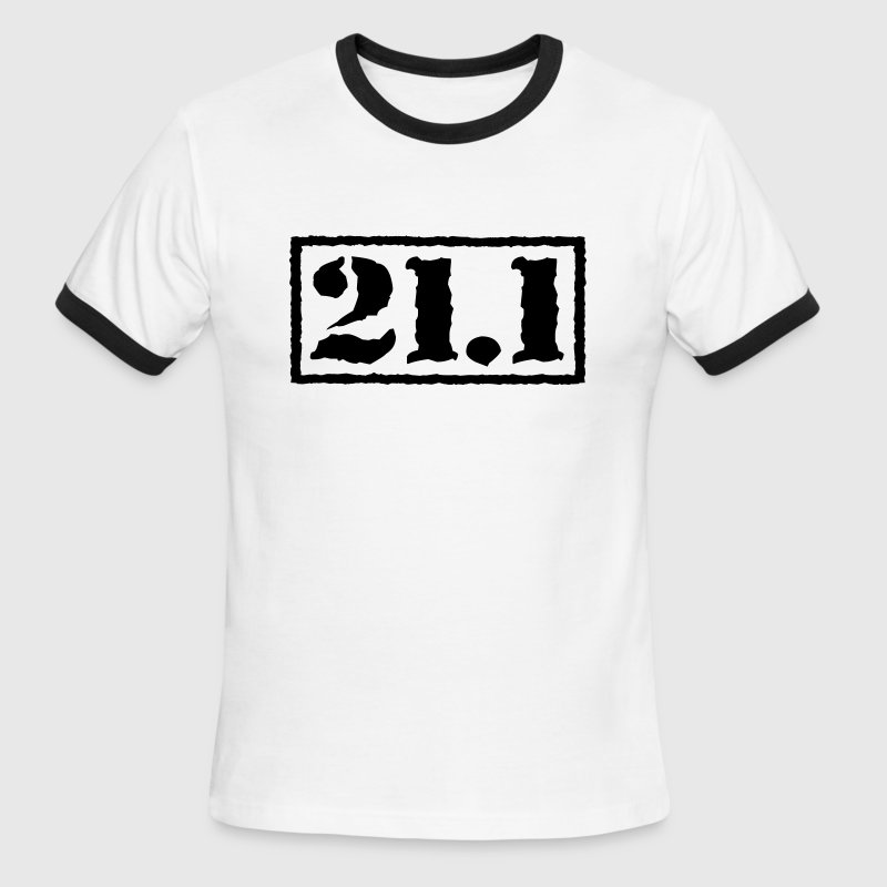 Top Secret 21.1 T-Shirts - Men's Ringer T-Shirt