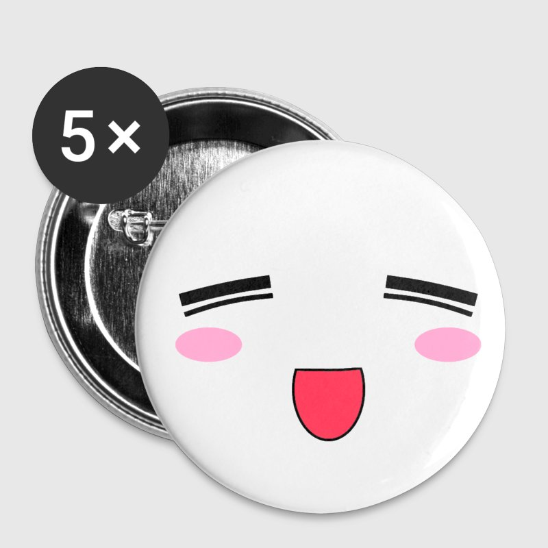Anime face pin - Small Buttons