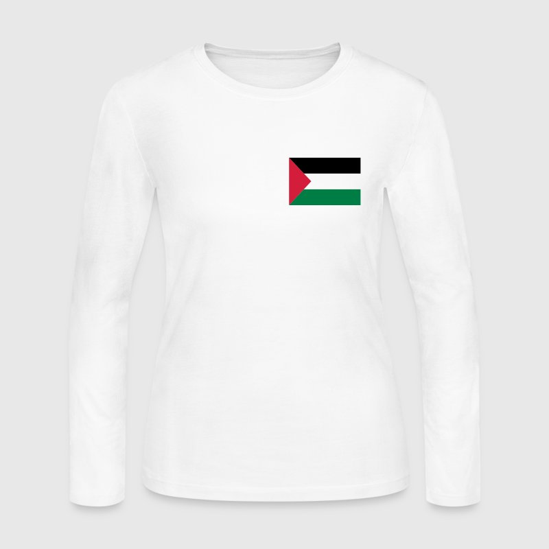 Palestine Long Sleeve Shirts - Women's Long Sleeve Jersey T-Shirt