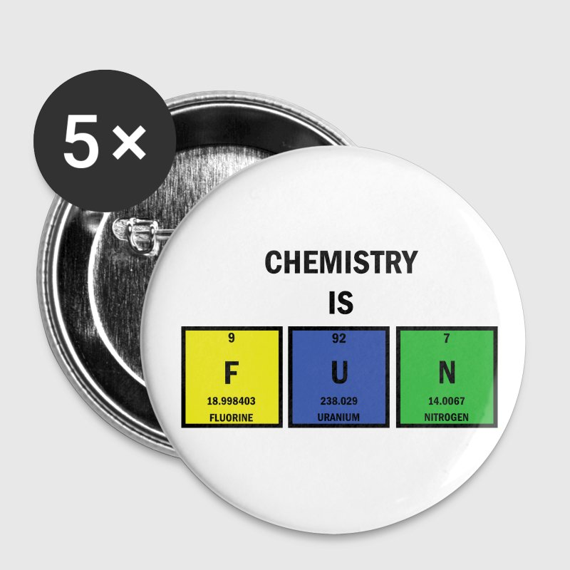 Chemistry is FUN Large Buttons - Large Buttons