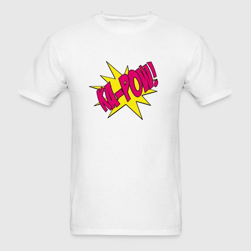 Pink Ka-Pow Girl Power! Kids' Shirts - Men's T-Shirt