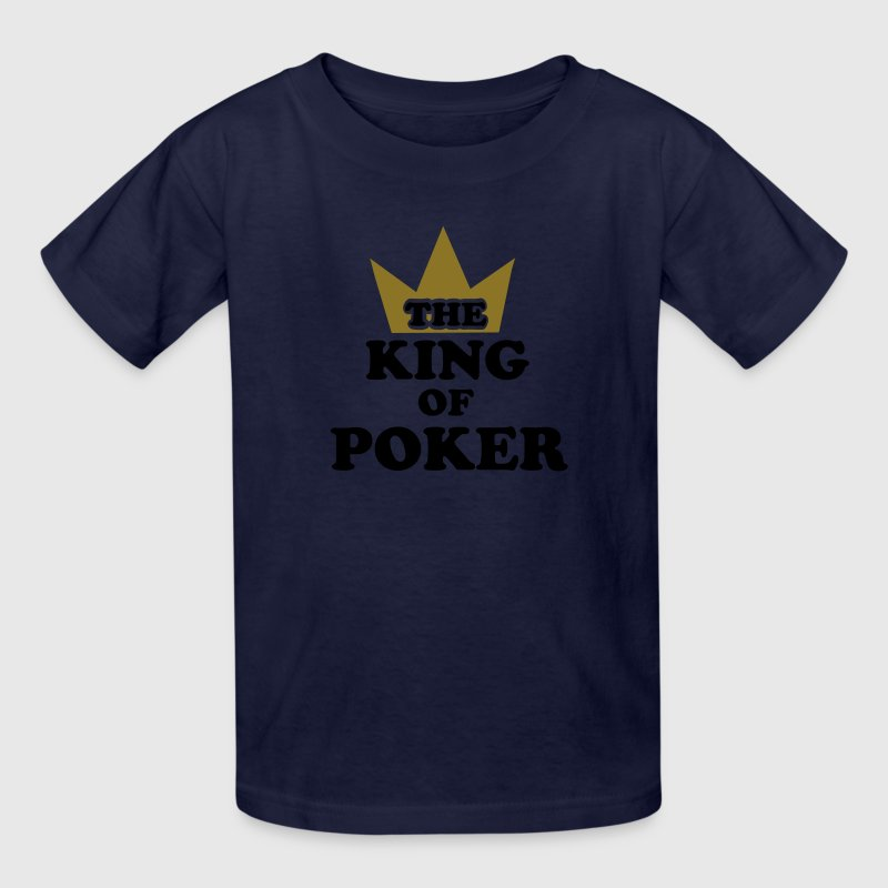 Poker king Kids' Shirts - Kids' T-Shirt