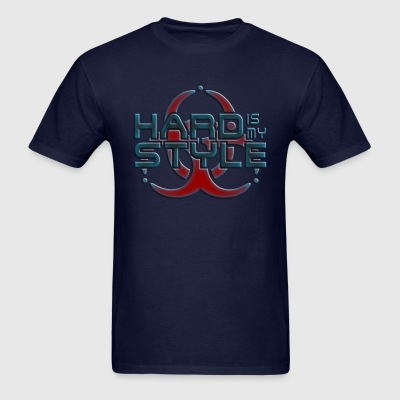 HARD IS MY STYLE - hardstyle pixel | women's long  - Men's T-Shirt