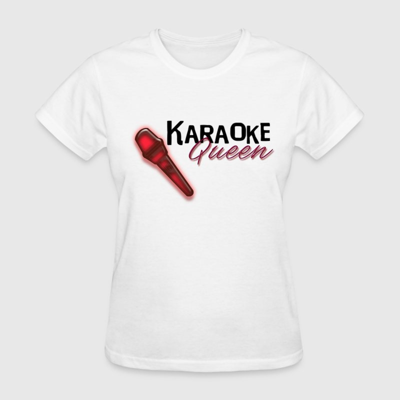 Karaoke Queen - Women's T-Shirt