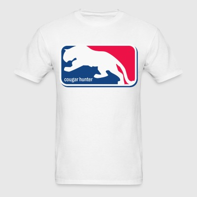 Cougar Hunter - Men's T-Shirt
