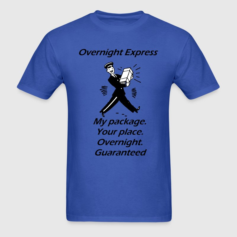 overnight_express - Men's T-Shirt