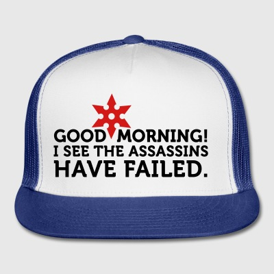 I See The Assassins Have Failed 2 (2c) Bags  - Trucker Cap