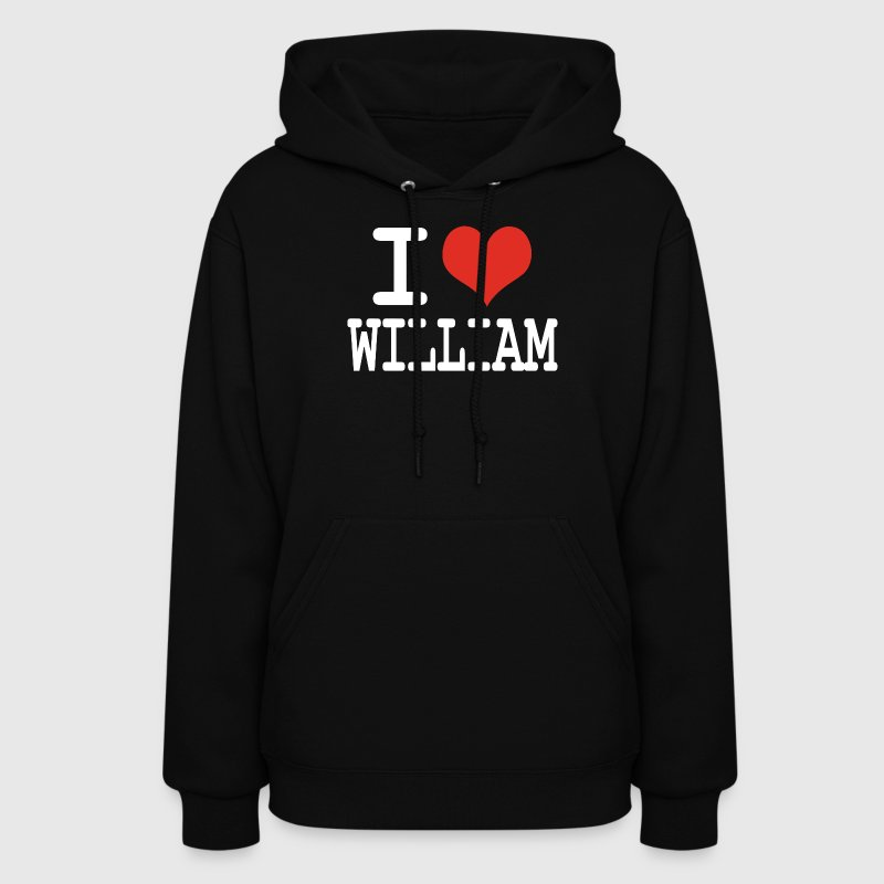 i love William Hoodies - Women's Hoodie