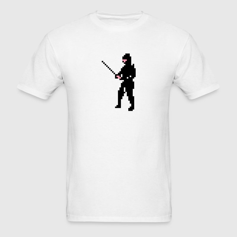 The Last Ninja Men Tshirt White - Men's T-Shirt
