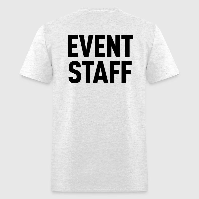 Event staff light shirt t shirt spreadshirt for Event staff shirt ideas