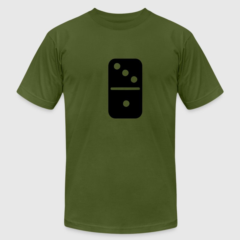 Domino T-Shirts - Men's T-Shirt by American Apparel