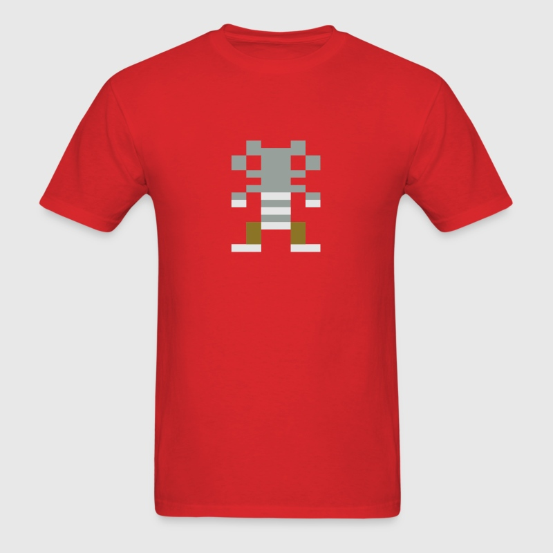 Boulder Dash C64 TShirt Red - Men's T-Shirt