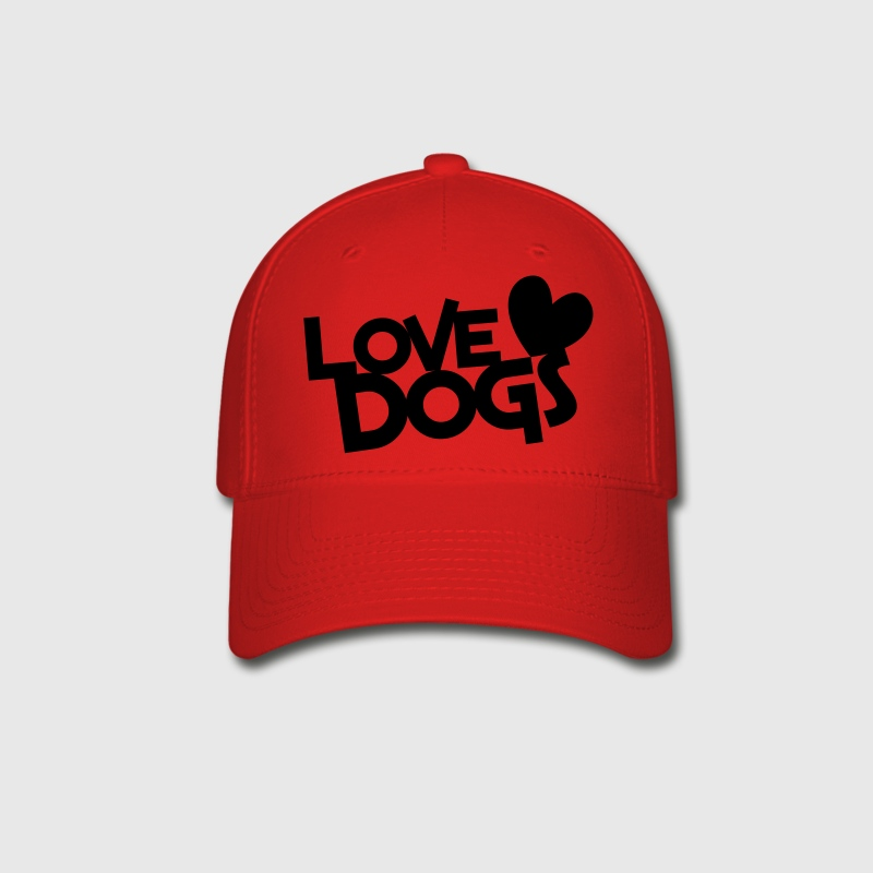 love dogs dog lover Caps - Baseball Cap