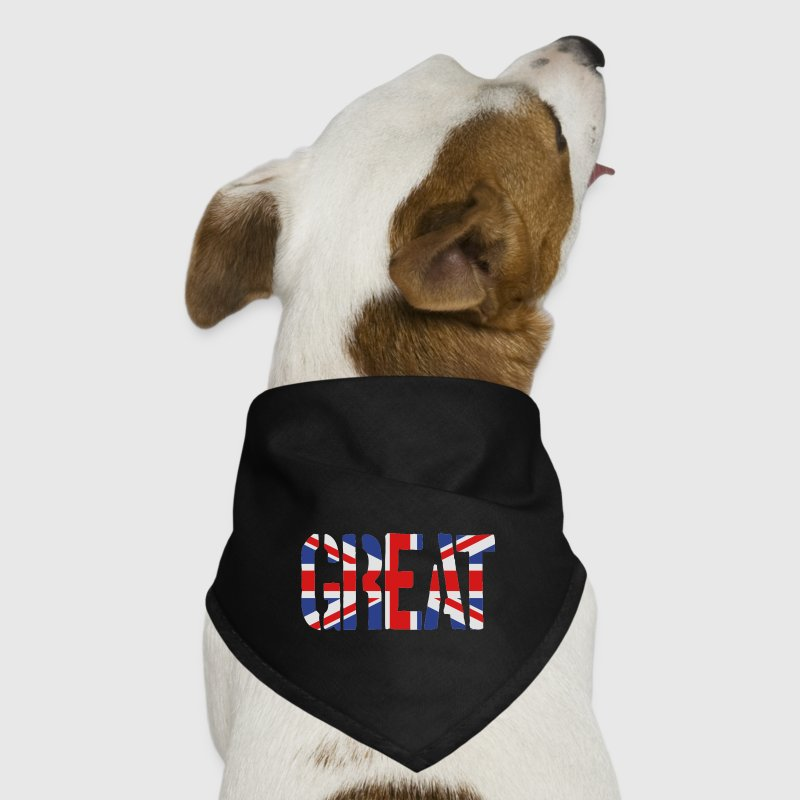 Great Britain Flag, British Flag, Union Jack, UK Flag - Dog Bandana