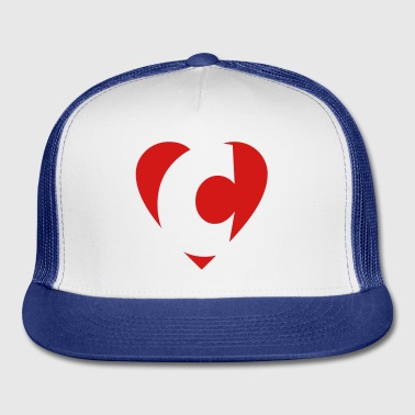 I like C... Buttons - Trucker Cap