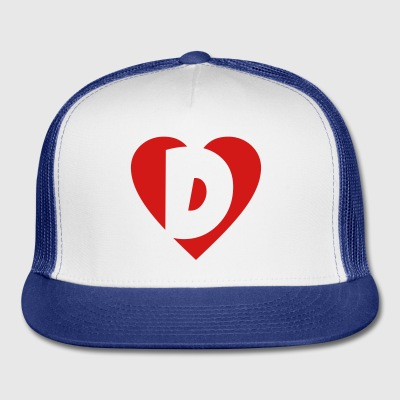 I like D... Buttons - Trucker Cap