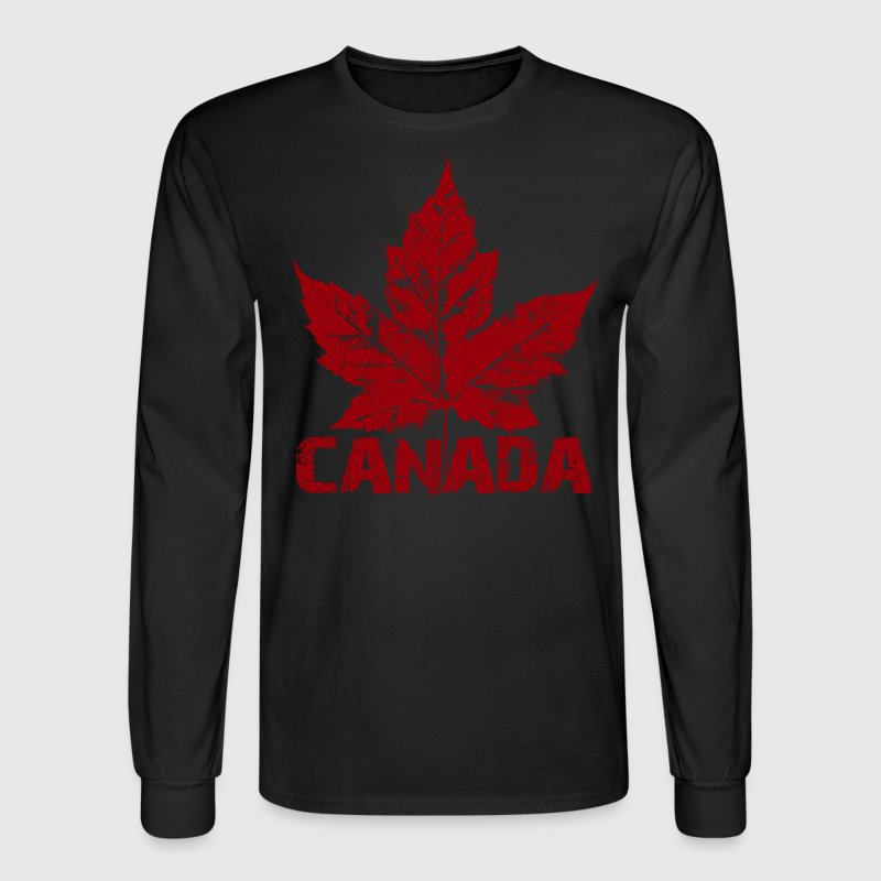 Cool Canada Souvenir Distressed Maple Leaf Art for T-Shirt ...