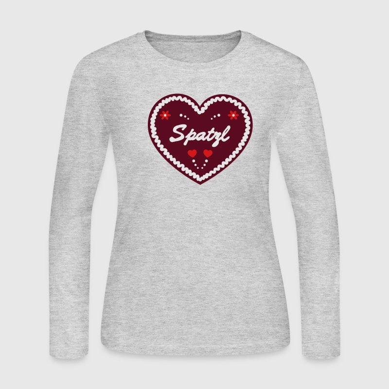 gingerbread shirt oktoberfest gingerbread heart spatzl long sleeve shirt spreadshirt