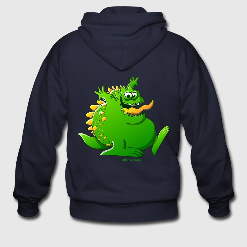 Fat Monster Zip Hoodies/Jackets - Men's Zip Hoodie