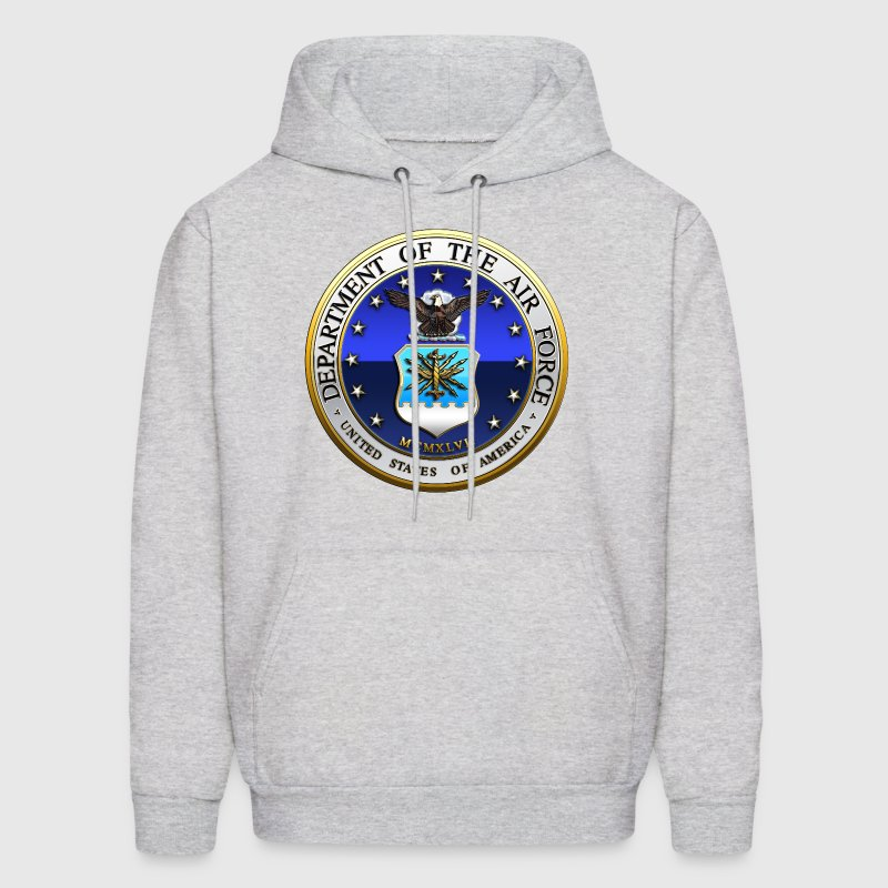 US Air Force (USAF) Seal - Men's Hoodie
