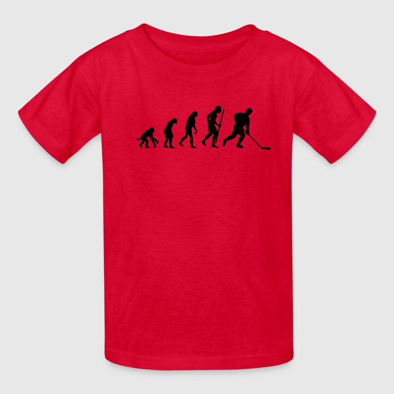 evolution of ice hockey Kids' Shirts - Kids' T-Shirt
