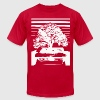 Bonsai Tree Art  - Men's T-Shirt by American Apparel