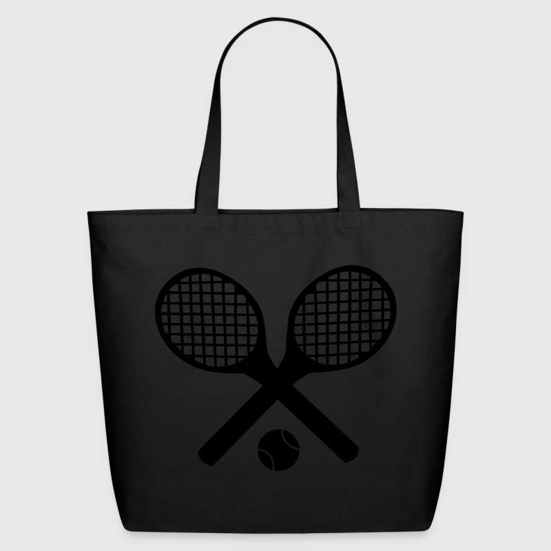 Tennis Rackets and Ball Bags  - Eco-Friendly Cotton Tote