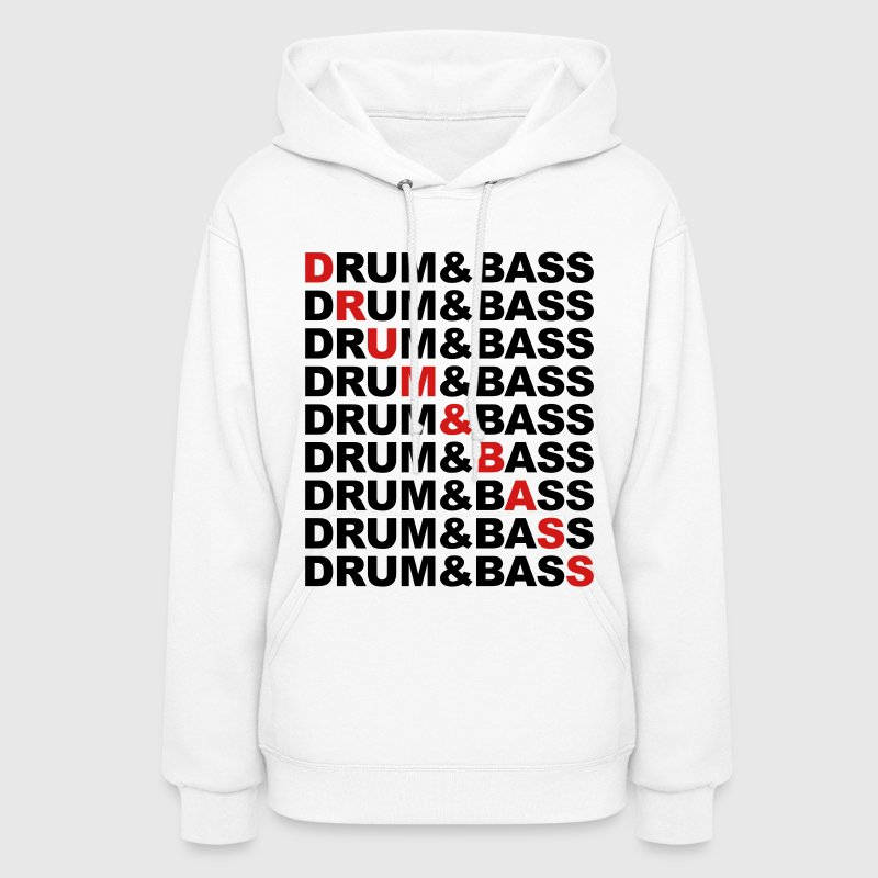 Drum And Bass Hoodies - Women's Hoodie