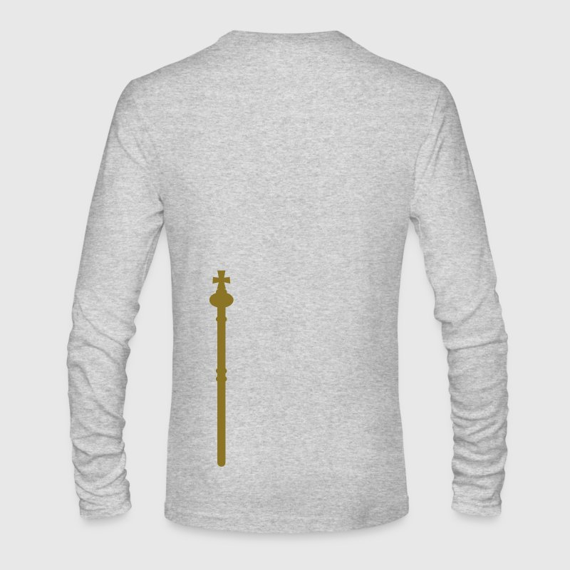 plain golden sceptre STAFF Long Sleeve Shirts - Men's Long Sleeve T-Shirt by Next Level