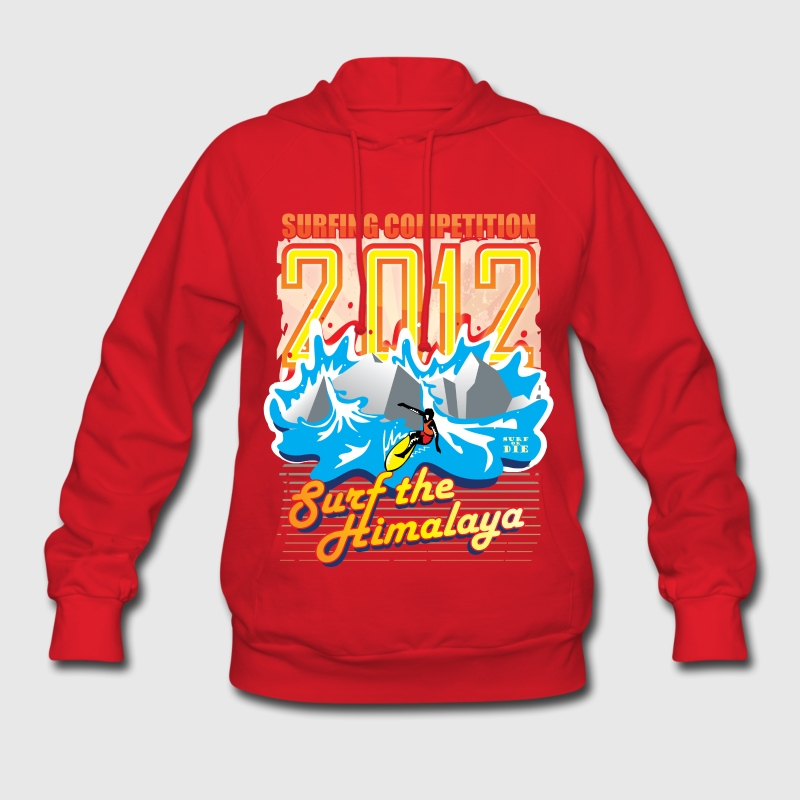 2012 Surfing Competition Hoodies - Women's Hoodie