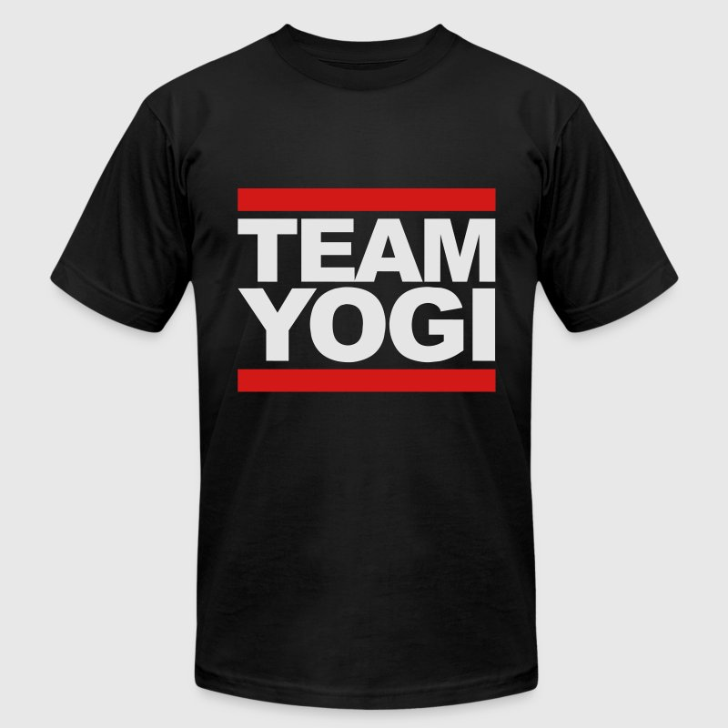 Team Yogi (Original) T-Shirts - Men's T-Shirt by American Apparel