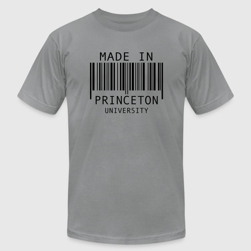 Made in Princeton University T-Shirts - Men's T-Shirt by American Apparel