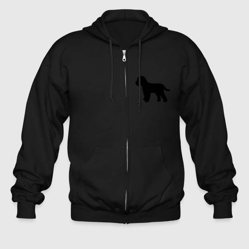 Cockapoo Dog Zip Hoodies/Jackets - Men's Zip Hoodie