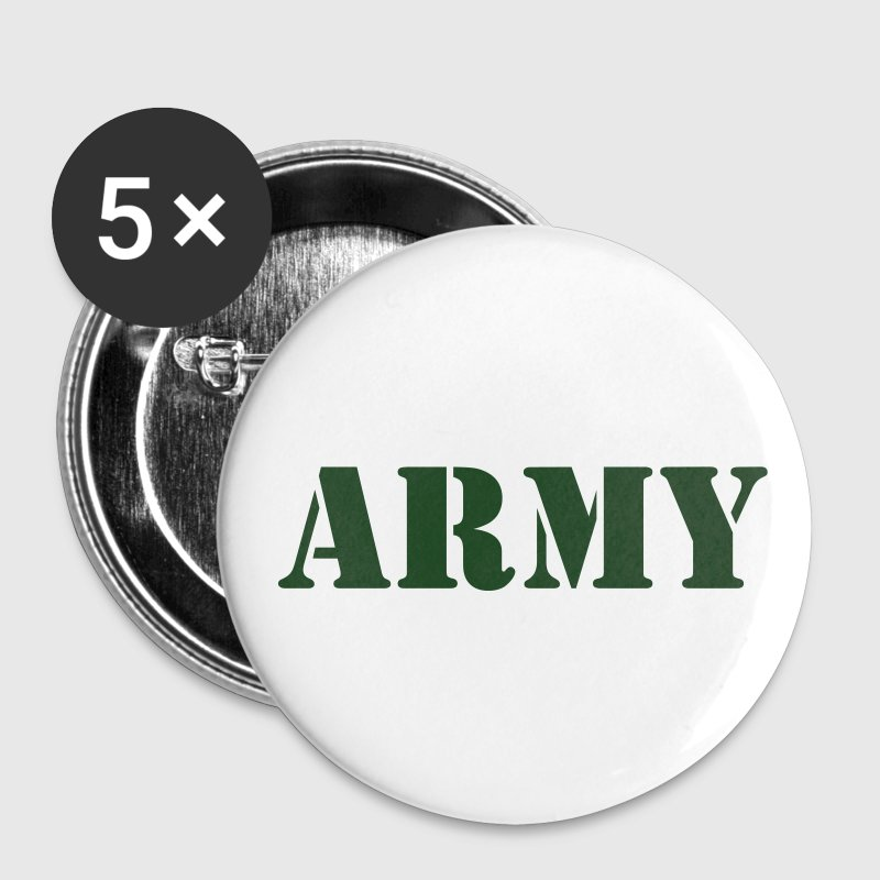Army (V) Buttons - Small Buttons