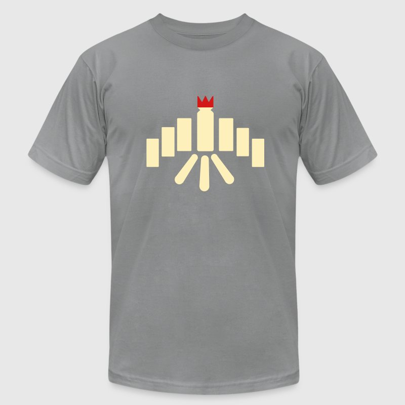 Kubb T-Shirts - Men's T-Shirt by American Apparel