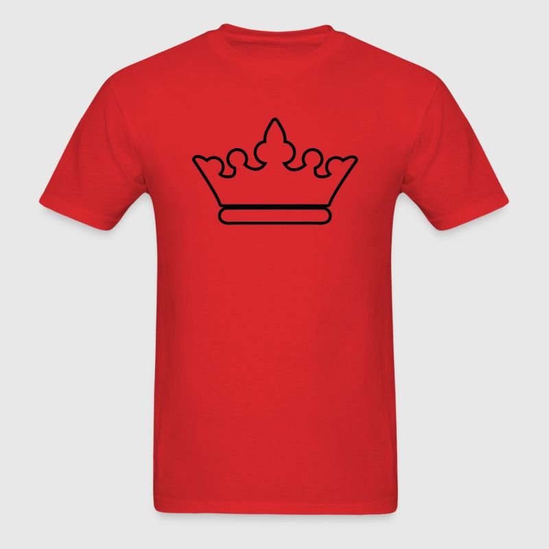 crown outline fancy for royalty T-Shirts - Men's T-Shirt