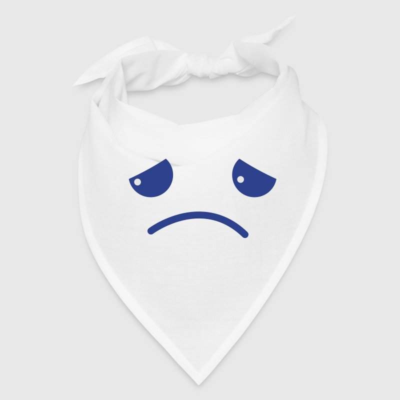 sad face chibi kawaii Caps - Bandana