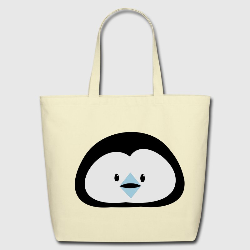 penguin face way too cute! Tote Bag | Spreadshirt
