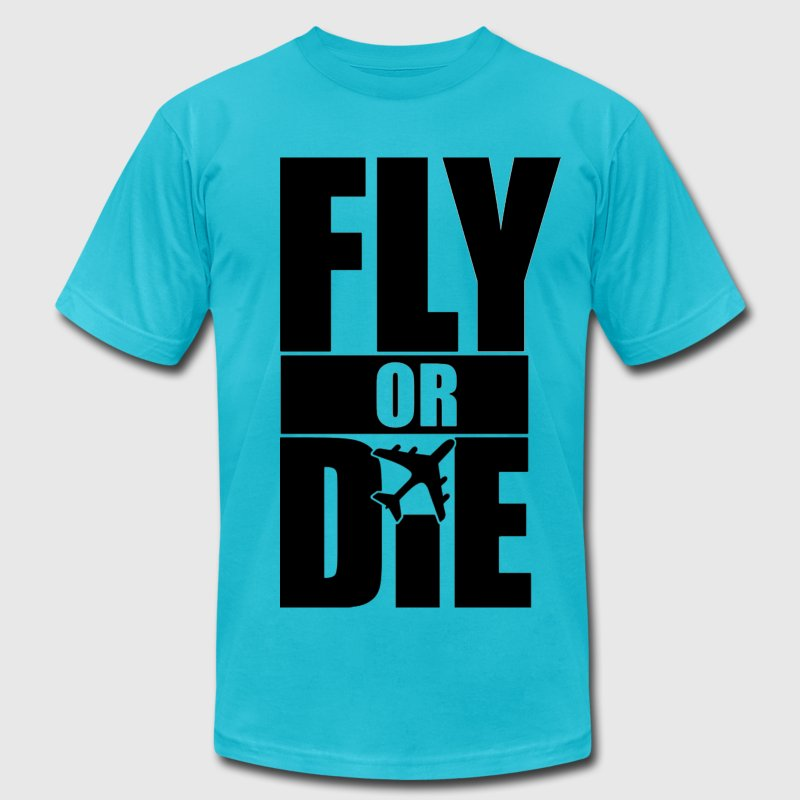 Fly Or Die T-Shirts - stayflyclothing.com - Men's Fine Jersey T-Shirt