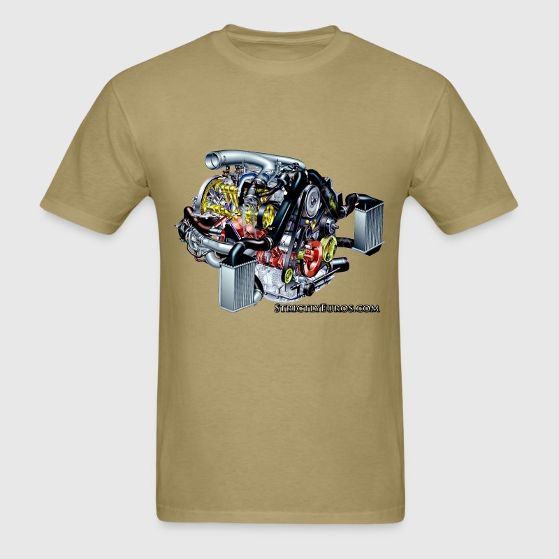 Audi 2.7t Engine T-Shirts - Men's T-Shirt